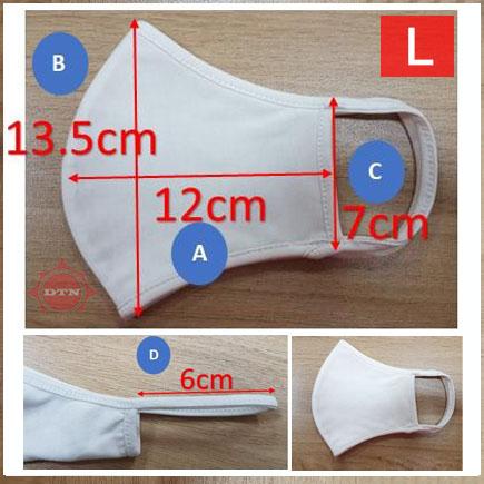 Khẩu trang vải (Cotton Mask) L size