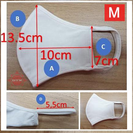 Khẩu trang vải (Cotton Mask) M size